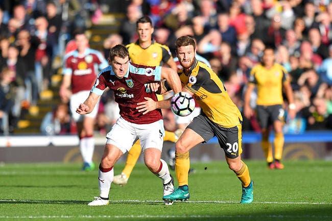 Burnley - Arsenal : 0-1
