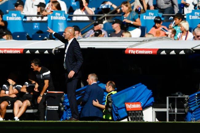 Real Madrid : « Quelque chose ne va pas », mais Zidane refuse la crise