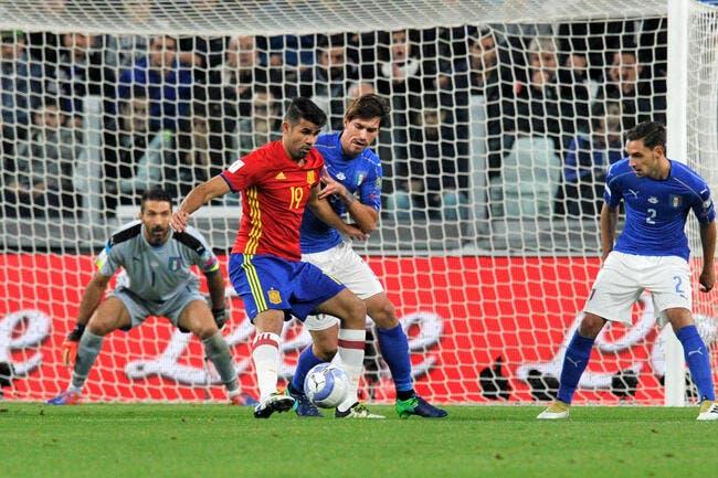 Italie - Espagne : 1-1
