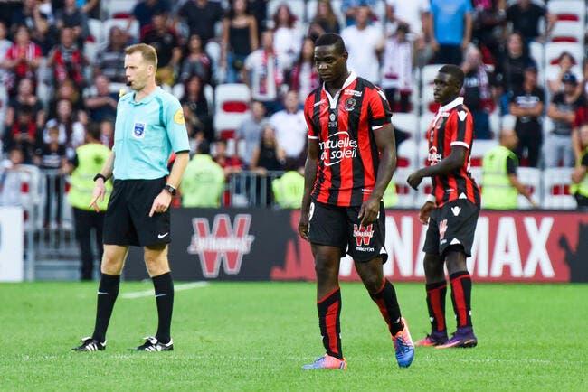 OGCN : La LFP annule le rouge de Balotelli, qui jouera donc contre l'OL