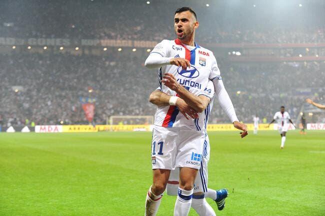 OL : Grâce au derby, Ghezzal rejoint l'Algérie sur son nuage