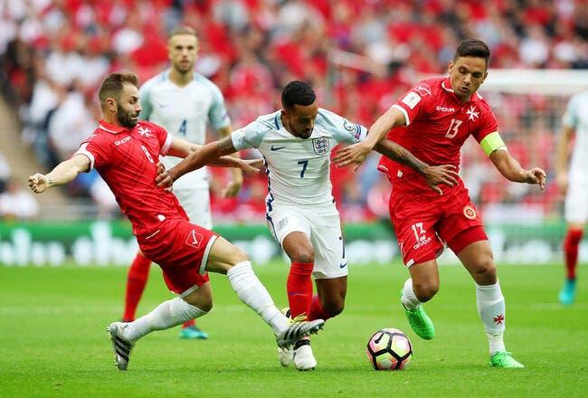CdM 2018 : Angleterre - Malte  : 2-0