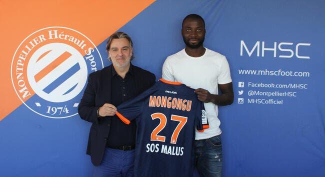 Officiel : Mongongu signe à Montpellier
