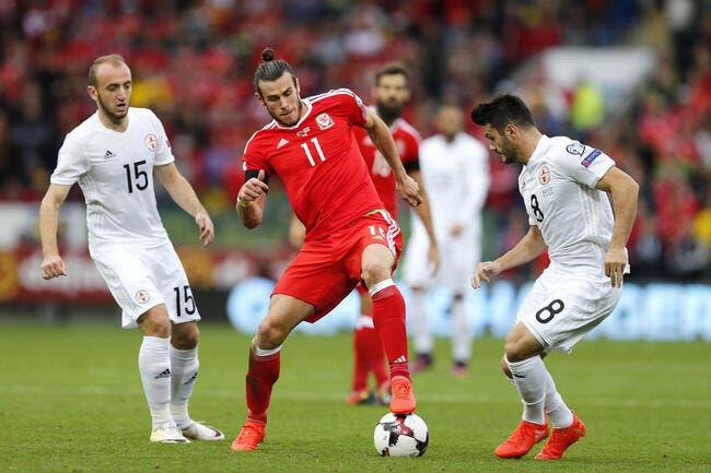 Pays de Galles - Géorgie 1-1