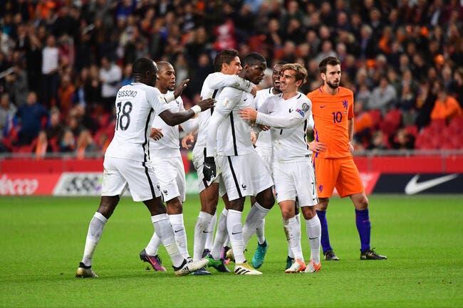 Pogboom frappe, et la France gagne aux Pays-Bas