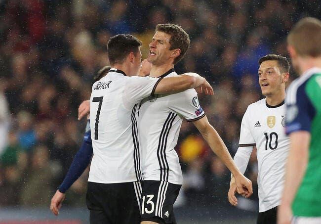 Allemagne – Irlande du Nord 2-0