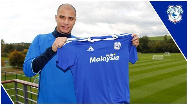 Officiel : Chamakh signe à Cardiff