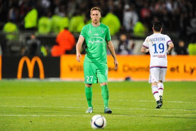 ASSE : Fuir Saint-Etienne pour s'amuser à Lyon, Beric n'assume pas