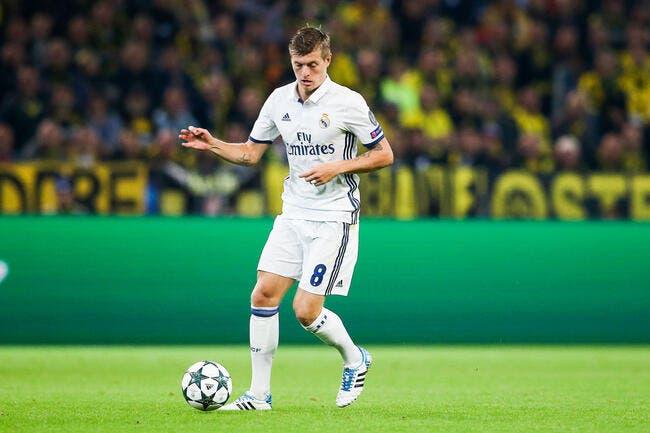 Officiel : Toni Kroos jusqu'en 2022 au Real Madrid