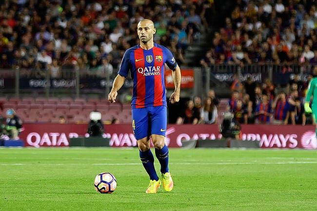 Officiel : Le Barça annonce la prolongation de Mascherano