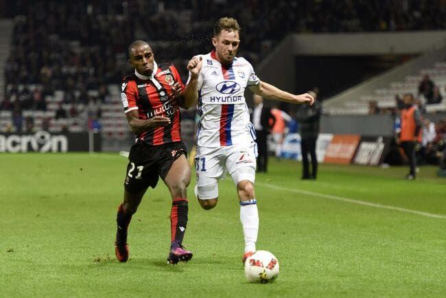 OL : Lyon se sait dans le dur et voit Nice s'envoler