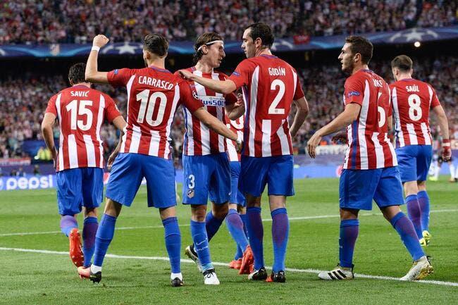 Atlético Madrid - Granada : 7-1