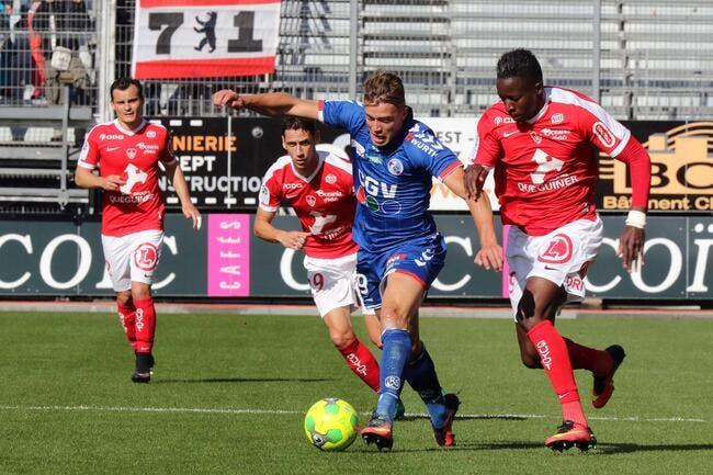Brest -  Strasbourg : 2-1