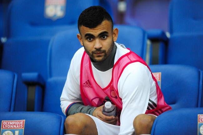 OL : Aulas dément avoir empêché Ghezzal de jouer en début de saison