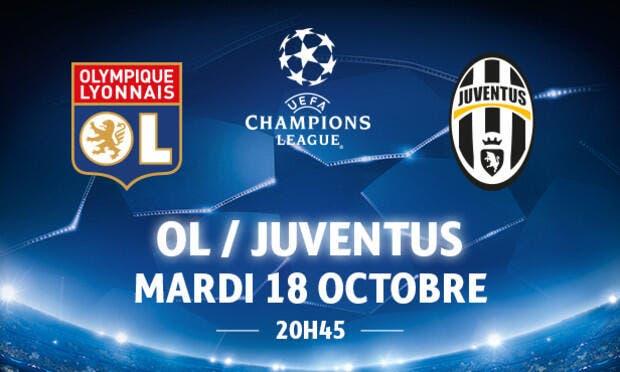 OL - Juventus : Les compos (20h45 sur BeInSports 1)
