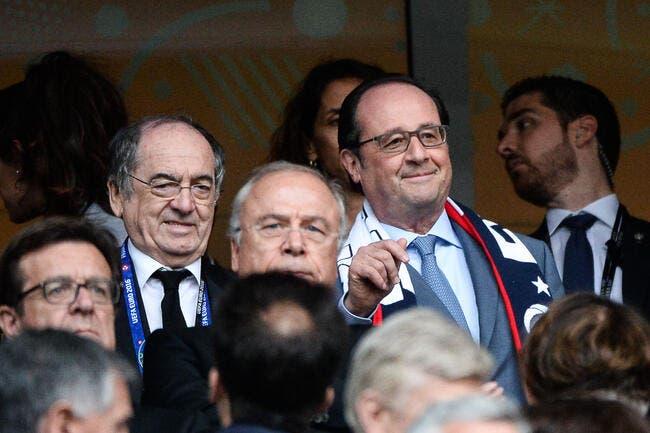 Hollande va rencontrer Le Graët pour éteindre l'incendie qu'il a allumé