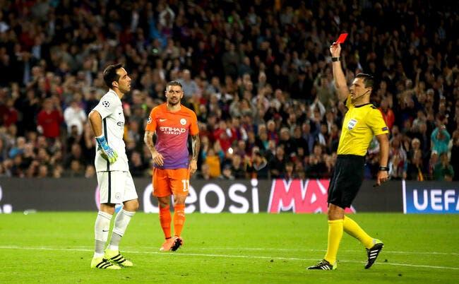 LdC : Quand Claudio Bravo se ridiculise face au Barça