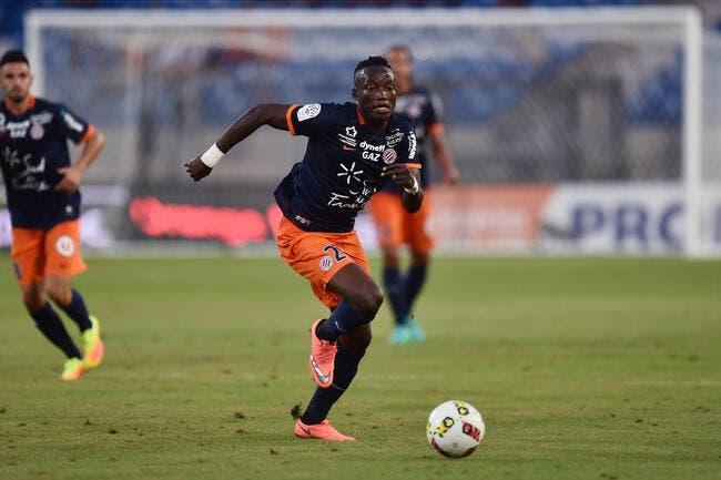 MHSC : Ninga opéré jeudi à Montpellier d'une rupture du ligament croisé