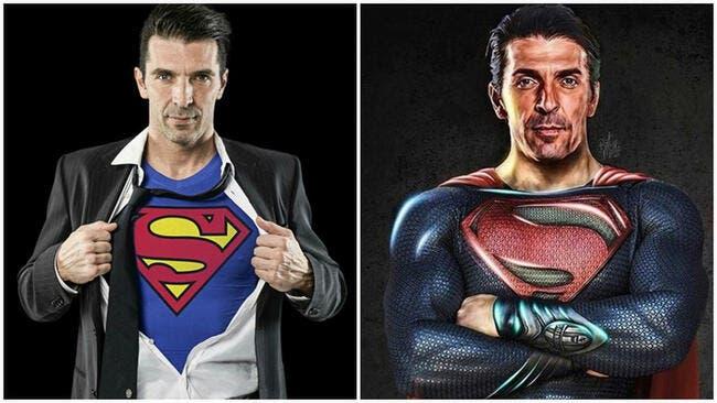OL : La presse italienne met 10 sur 10 à Buffon Superman