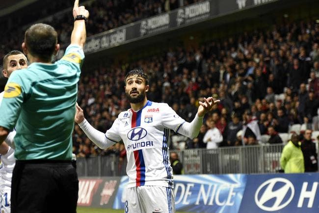 LFP : Fekir prend deux matchs de suspension, dont un avec sursis