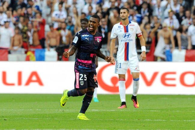 Bordeaux : Malcom face à l'OL, ce n'était pas de la simulation...