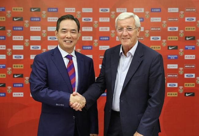 Officiel : Marcelo Lippi nouveau sélectionneur de la Chine