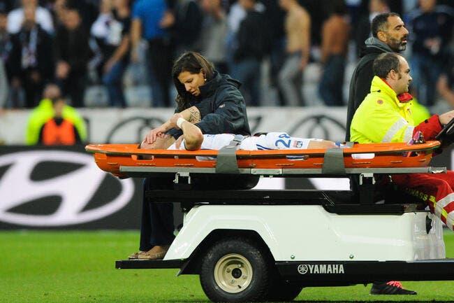 OL : Luxation de l'épaule et opération pour Valbuena