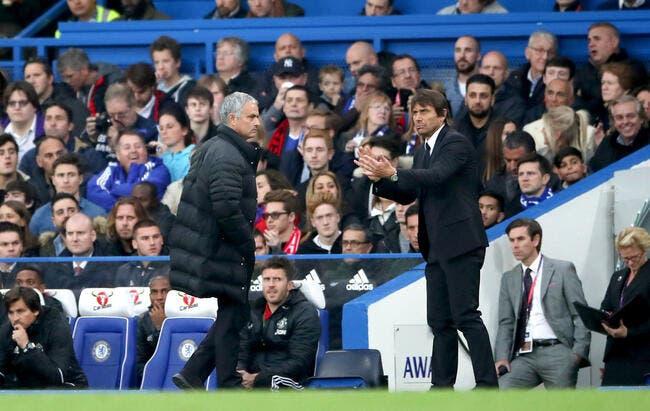 Chelsea - MU : Mourinho tacle Conte après s'être fait humilier