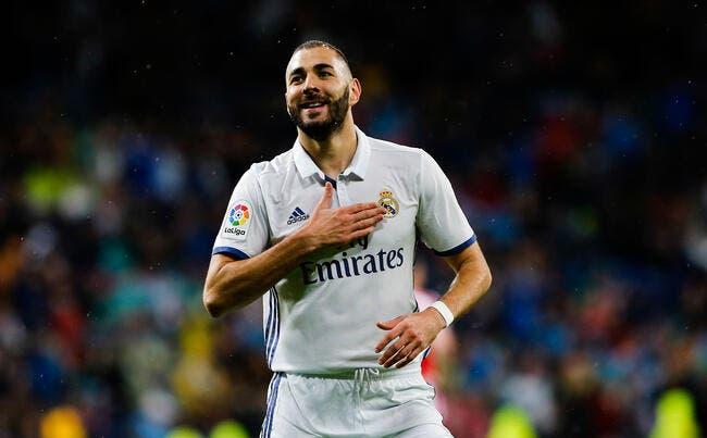 Absent de la liste pour le Ballon d'Or, Karim Benzema est mort de rire