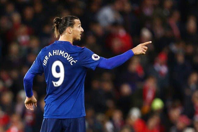 MU : Ibrahimovic traité de « vieillard qui joue au foot »
