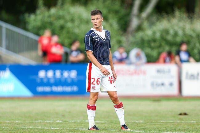 Officiel : Guilbert quitte Bordeaux et rejoint Caen en prêt