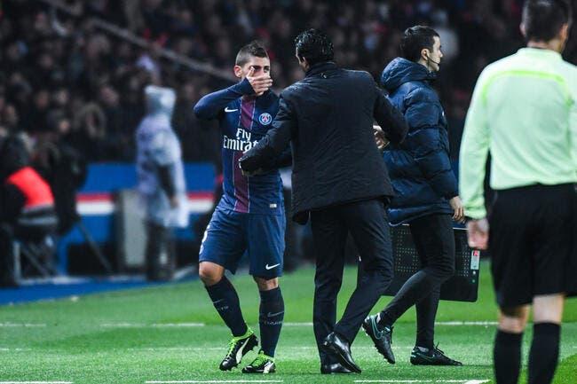 PSG : Verratti furieux d'être remplacé ? Pas de panique pour Emery