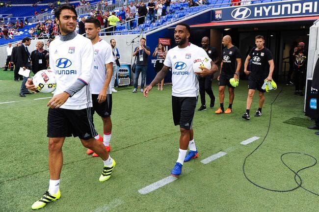OL : Le groupe avec Grenier et sans Nkoulou contre Toulouse