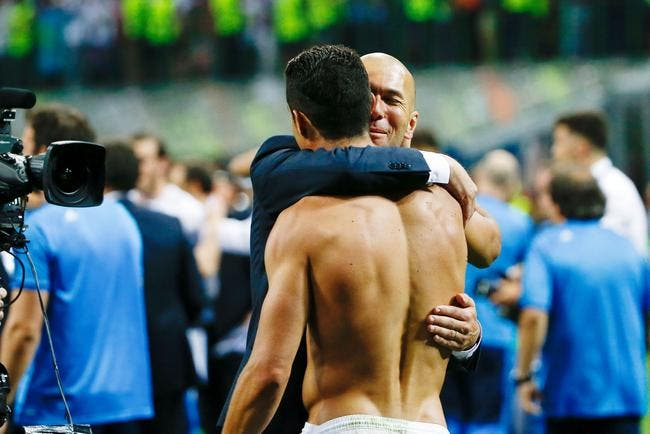 Zidane donne la preuve que Cristiano Ronaldo mérite le Ballon d'Or
