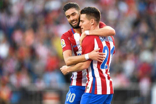 Atlético Madrid - Malaga : 4-2