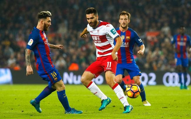 Barcelone - Granada : 1-0