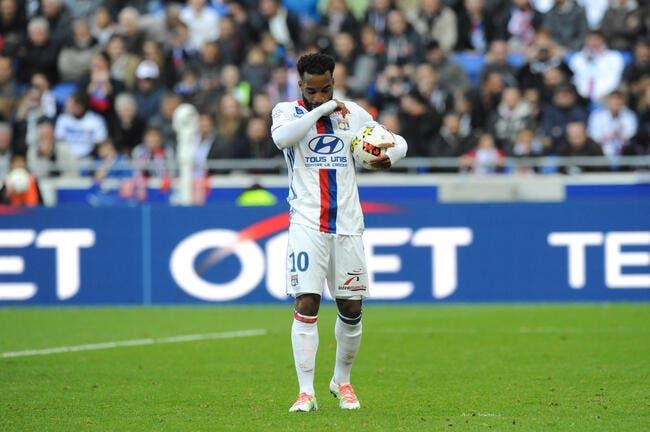 OL : Lacazette marque son 100e but à Toulouse