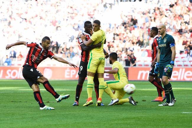 Nice - Nantes : 4-1