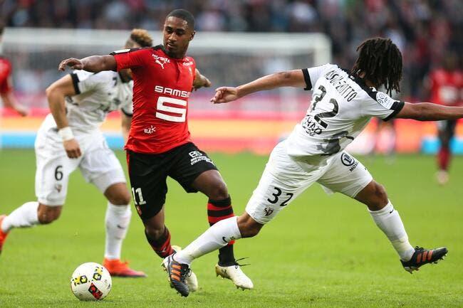 Rennes se place derrière les gros bras