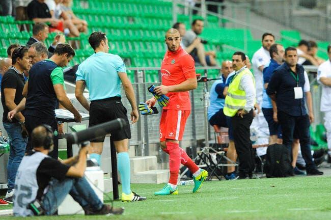 ASSE: Ruffier suspendu 3 matchs par l'UEFA