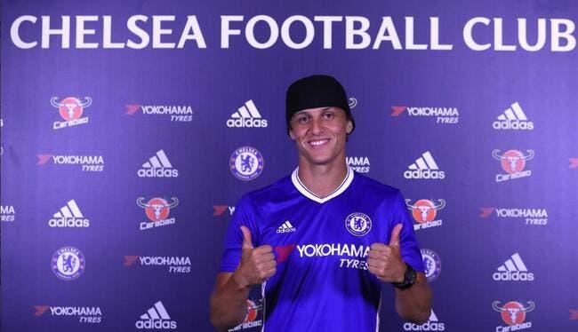 Officiel: David Luiz quitte le PSG pour revenir à Chelsea