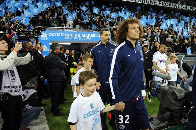 PSG: David Luiz fait un aveu, il a été conquis par le Vélodrome
