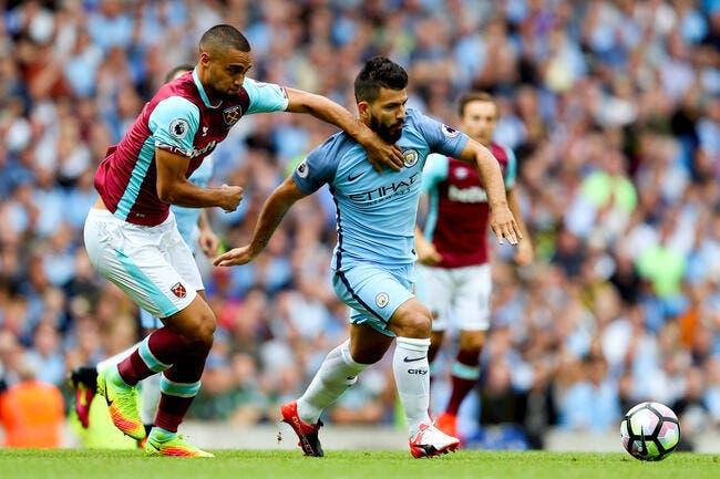 Aguero suspendu 3 matches dont le derby pour un coup de coude