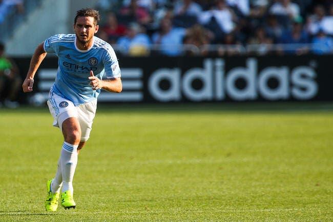 MLS: Technique, classe et sang-froid, Lampard est toujours là