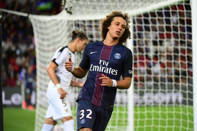 PSG : Furieux, David Luiz fait passer un message pour la L1