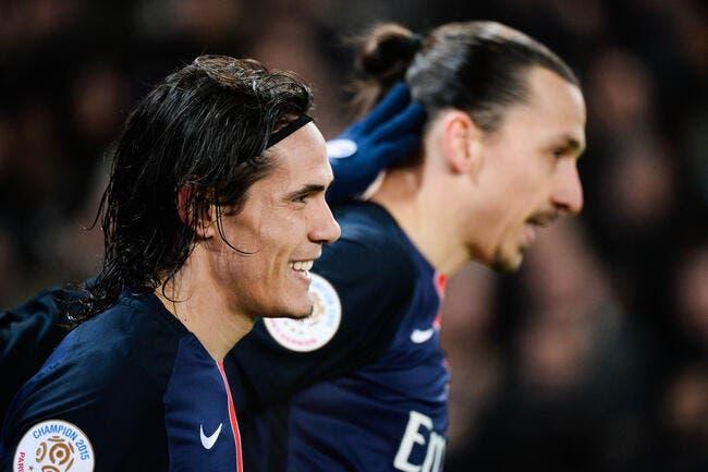 PSG : Imiter Ibrahimovic ? Cavani n'a jamais voulu être Ibra