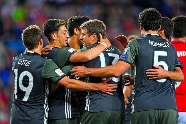Norvège - Allemagne : 0-3