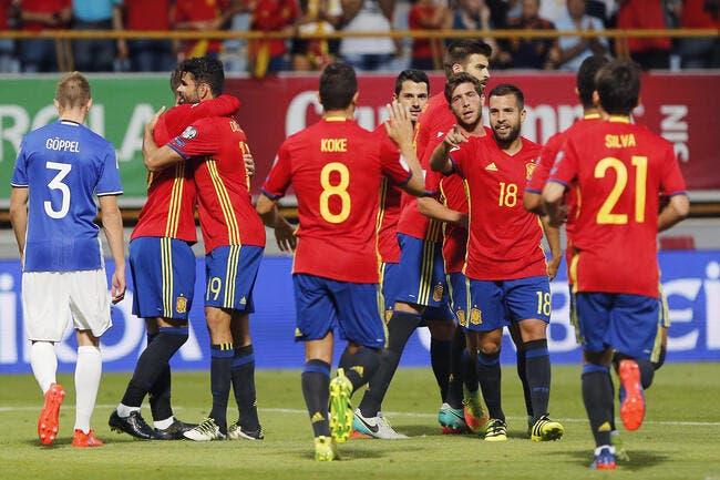 Espagne - Leichtenstein 8-0
