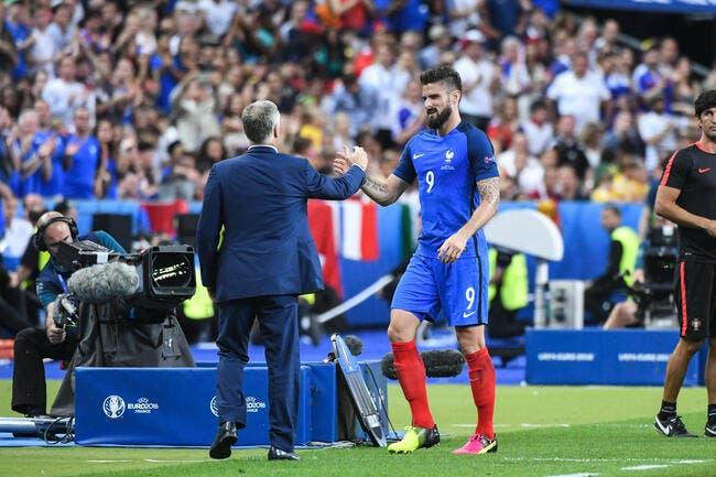 France: Sifflé par les pro-Benzema, Giroud explique que «c'est le foot»
