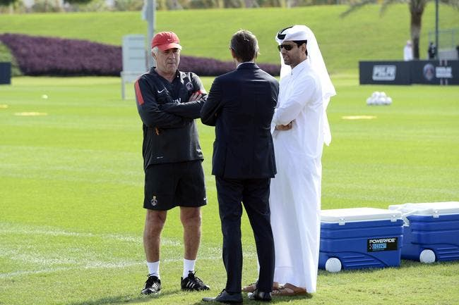 PSG : Ancelotti envoie un tacle glissé à Nasser Al-Khelaïfi